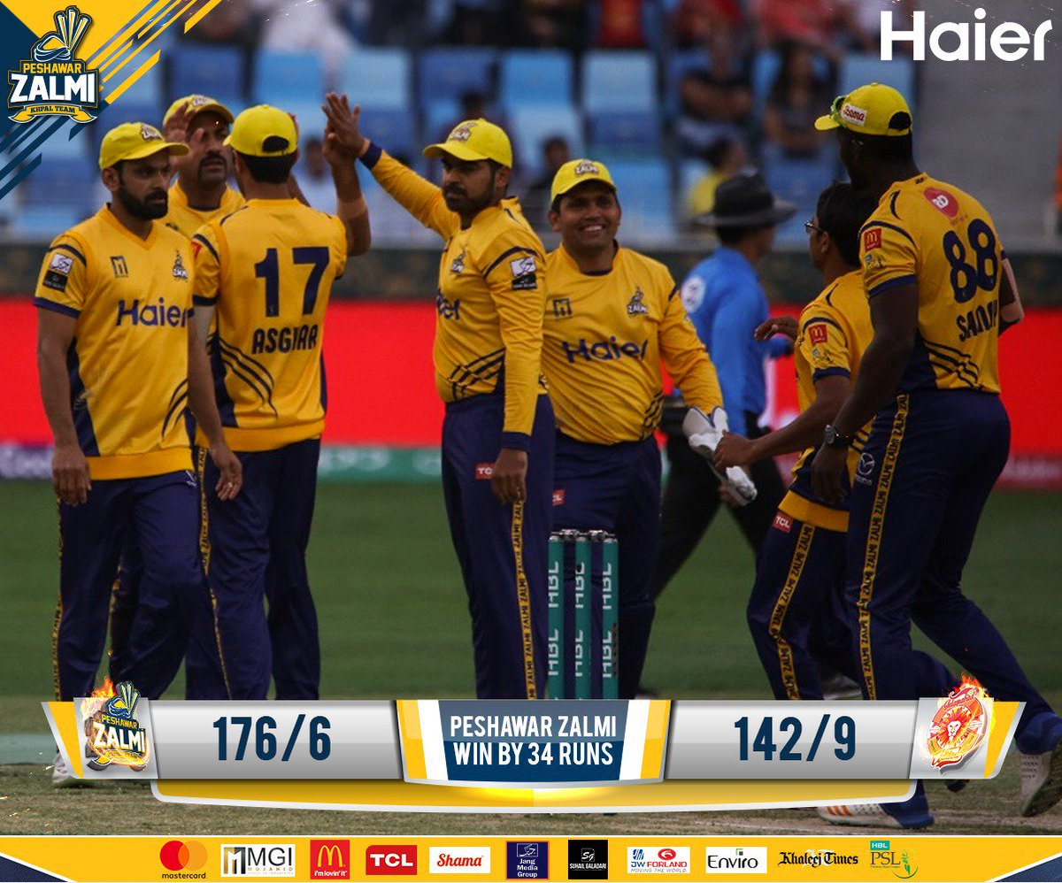 Peshawar Zalmi are back to winning ways!...