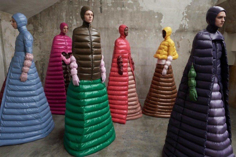 モンクレール ピエールパオロ・ピッチョーリ18年秋冬コレクション - ダウンがドレスに変わるとき - https://t.co/2bBiZDv9wm