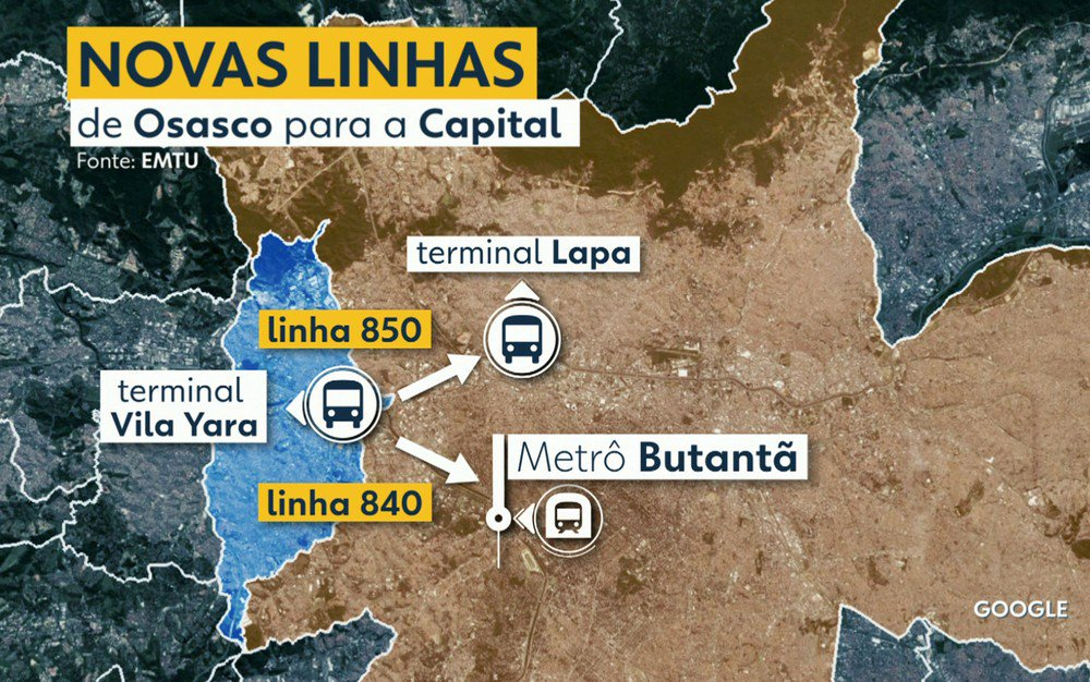 Mudança de linhas de ônibus na Grande SP afeta rotina de 80 mil passageiros https://t.co/YMAjVYfPCn #G1SP