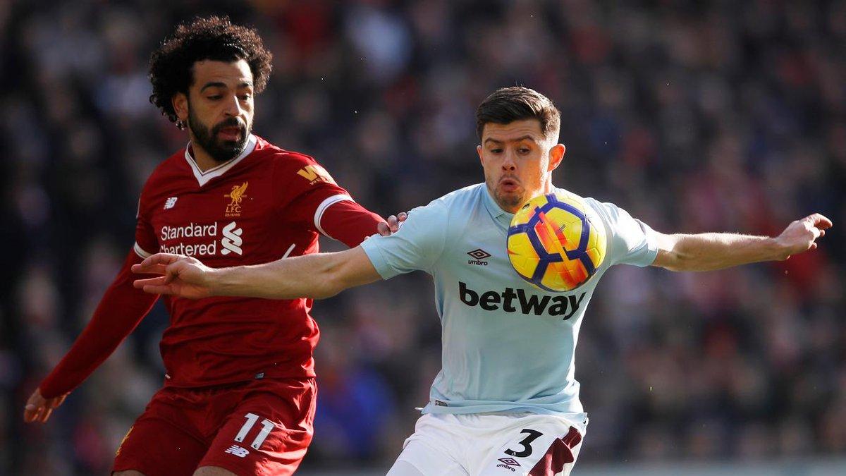 FIM DO 1º TEMPO!  Liverpool 1x0 West Ham...