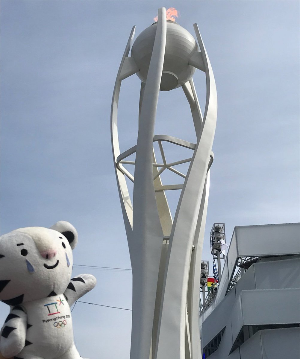 Less than 24 hours to the #ClosingCeremony 😢 #Soohorang #PyeongChang2018 #Olympics