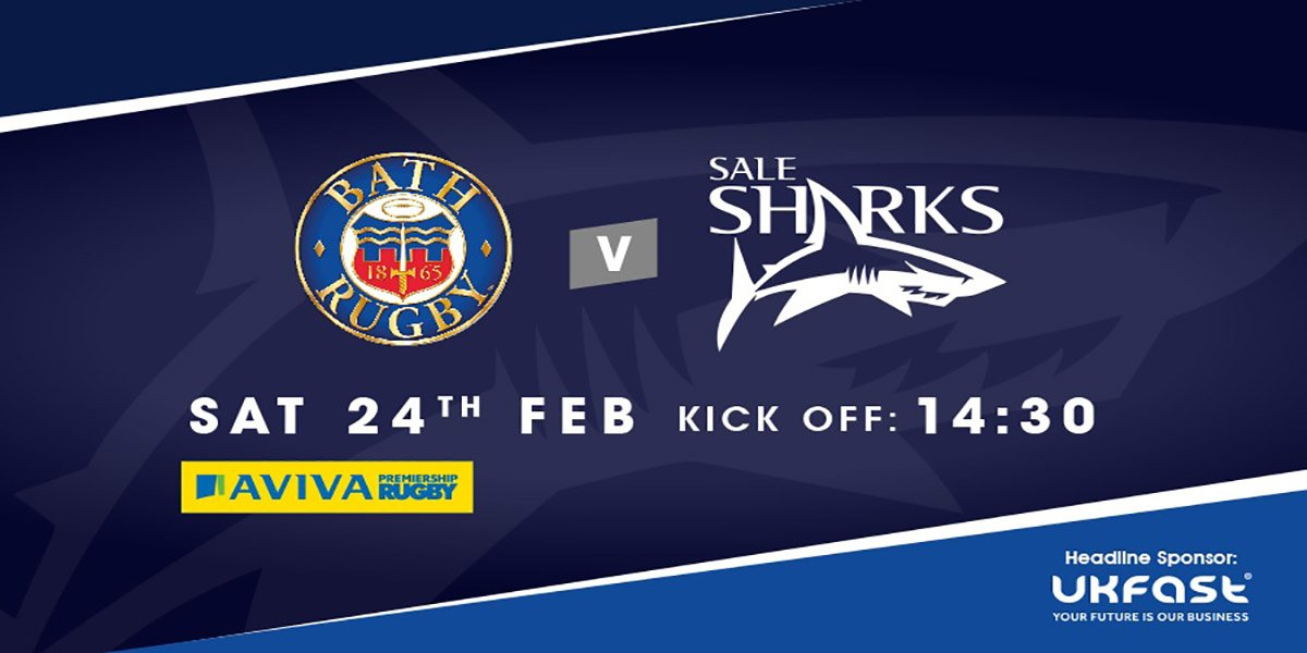 test Twitter Media - Look out for the @SaleSharksRugby in their magnificent ICONIX™ Test Jerseys playing Bath today at 2:30pm! The very best of luck from the Samurai team 👏 #SamuraiFamily #LooksBetterLastsLonger #Teamwear https://t.co/xcs8sOU6v9