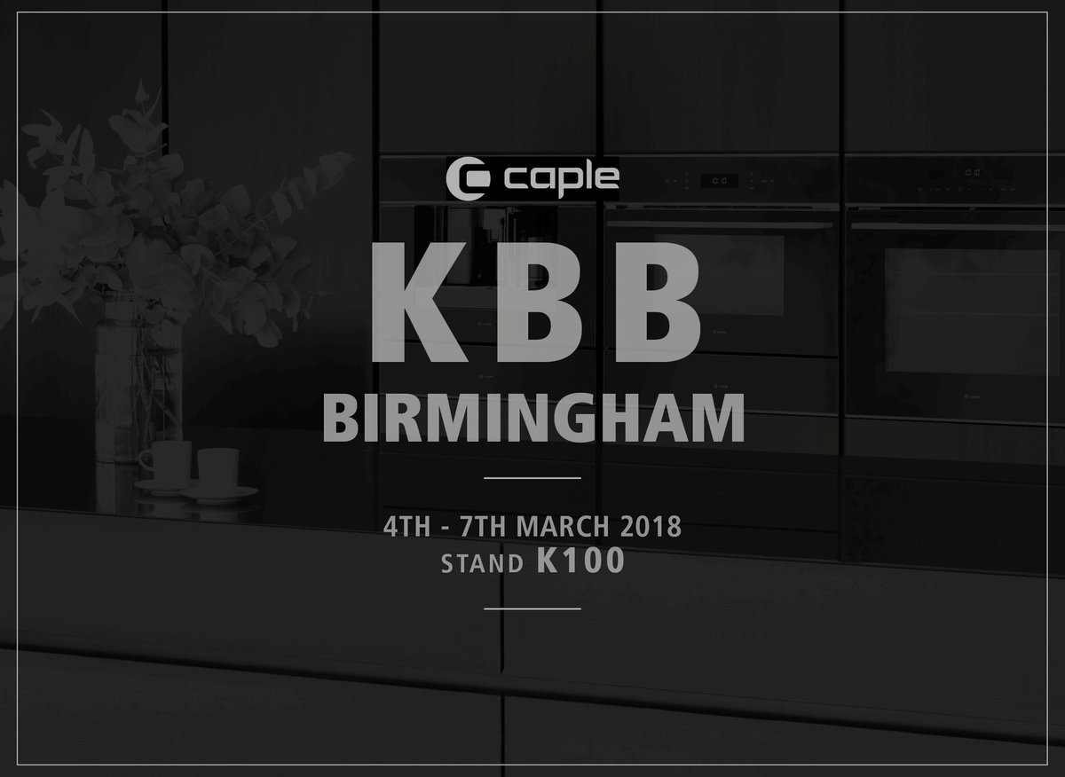 Coming soon: Caple's new fridge-freezer uses smart technology to keep food fresher for longer. Get a sneak preview at next month's #kbb18 show in Birmingham #futurekbb #Caplequality