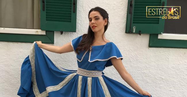Tainá Müller se veste de 'prenda empoderada', no 'Estrelas do Brasil'  https://t.co/TSw58ZVpl4 #EstrelasDoBrasil