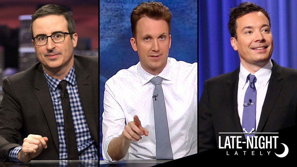 Late-Night Lately: The hosts take on gun control, the NRA and Olympics https://t.co/WeU6Vx1WuG https://t.co/1AhSS7XofX