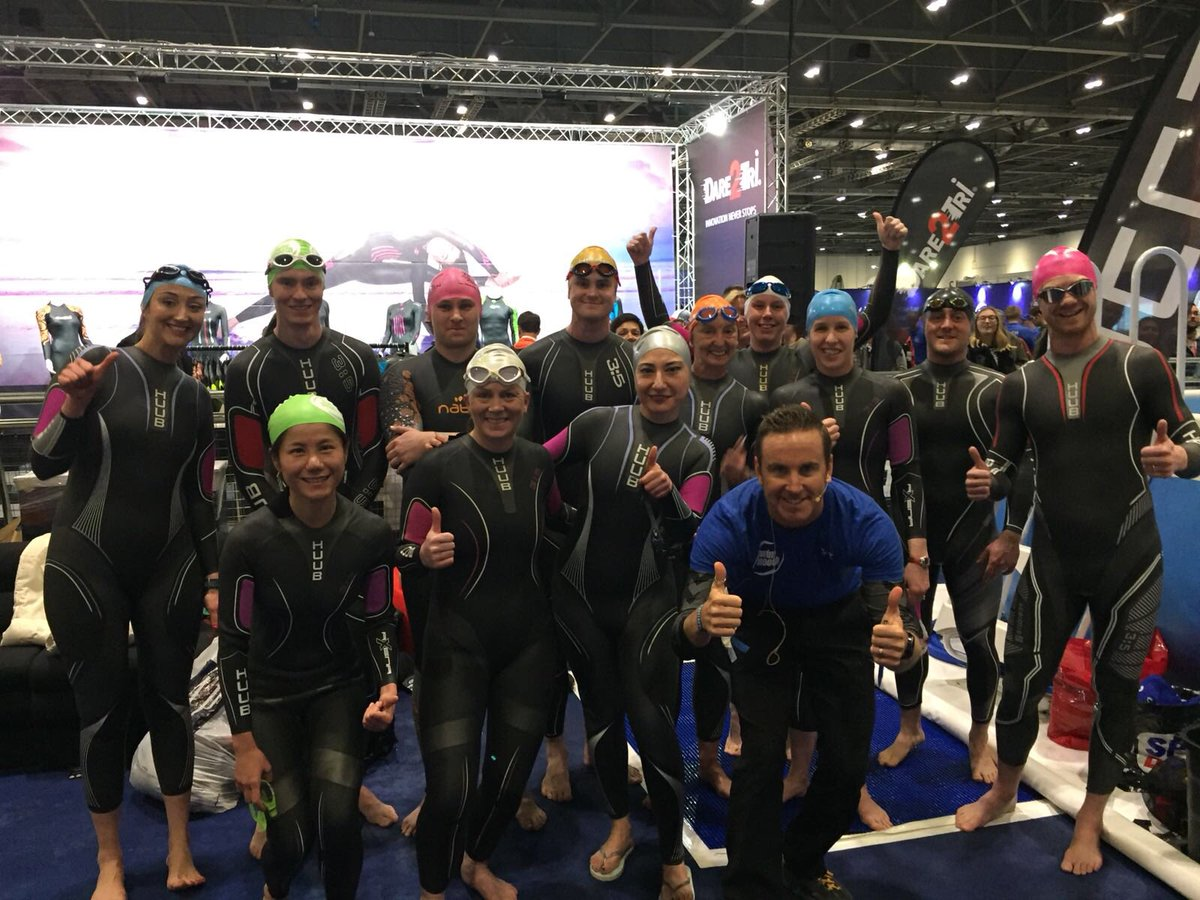 5613460f99f It s all going in with our friends  SwimSmoothPaul  swimsmooth here at the  tri show London https   t.co cUyZ5bW1Am
