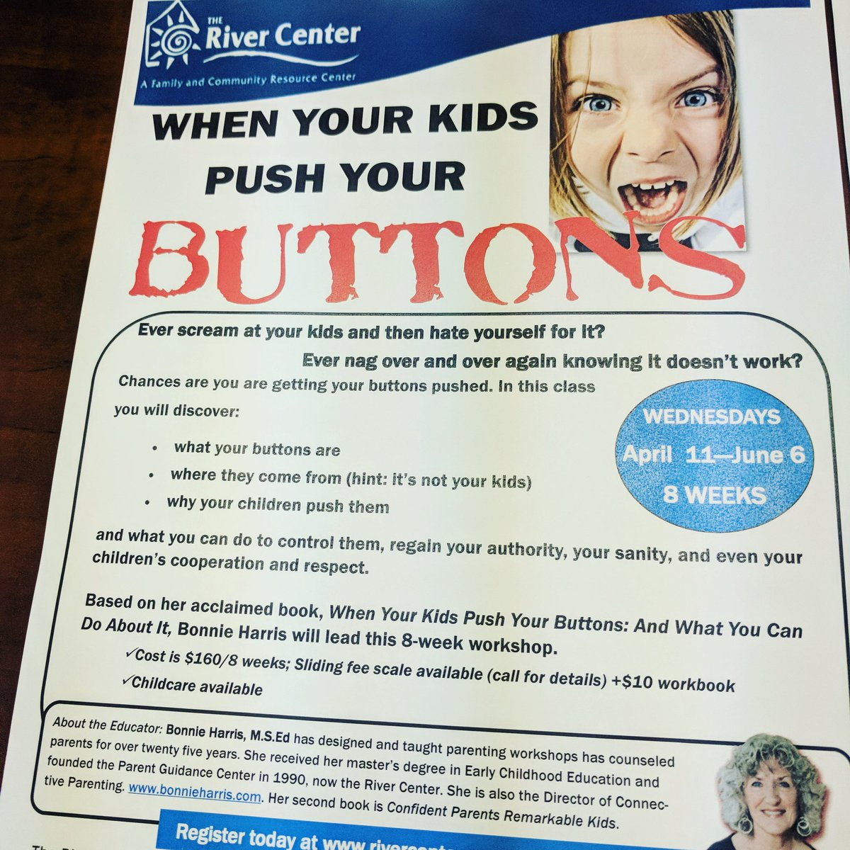 when your kids push your buttons harris bonnie