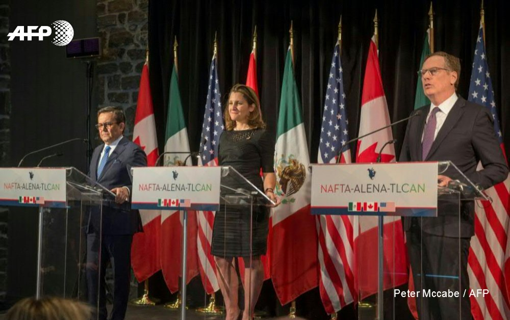 Negotiators From The Us Mexico And Canada Open A New Round Of Talks