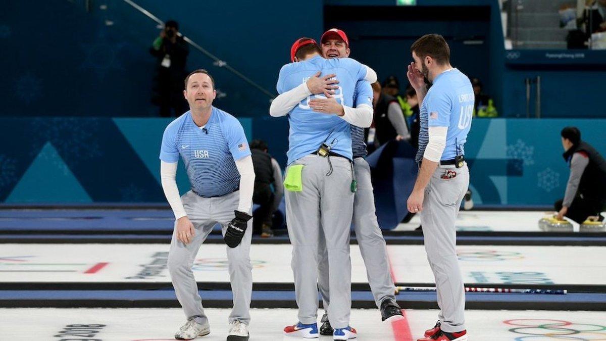 #WATCH USA curling breaks the internet (again) after gold medal win https://t.co/ZwCgnDVGIH #KPRC2
