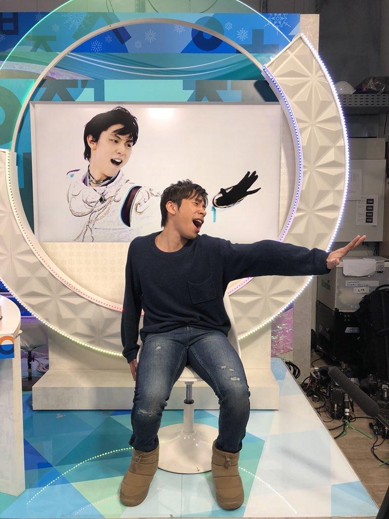 サタステの最後「羽生選手は日本の誇りです!」って言いたかったんですけど入らずすいません!結弦は誇りでありリビングレジェンド!感動をありがとう! #PyeongChang2018  #平昌オリンピック