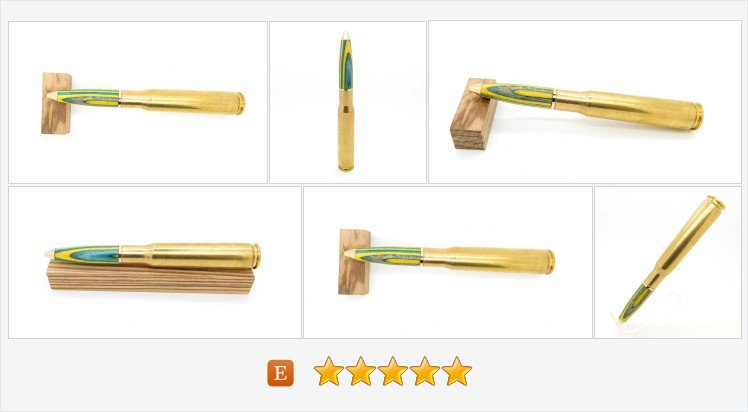 #Handmade 50cal Twist Pen featuring Blue, Yellow Fighting Irish #Spectraply by #BoardArtistry #hunting #giftforhim #militarygift #crosspen #USNA   https://www. etsy.com/BoardArtistry/ listing/589891255/hand-turned-50cal-twist-pen-featuring &nbsp; … <br>http://pic.twitter.com/klXcS78nfg