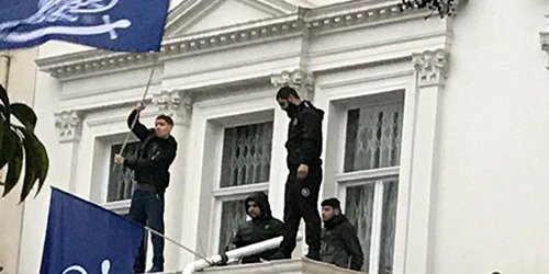 Four Arrested After Balcony Protest At #Iranian Embassy In London https://t.co/B0ZB1WernI