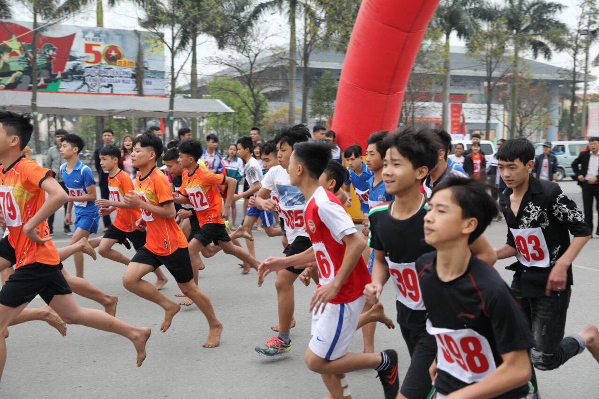 """Asian Games 2018 on Twitter: """"#AsianGames2018 Fun Run was held today in  Vietnam. This event was attended by 3000+ runners and 600 students.… """""""