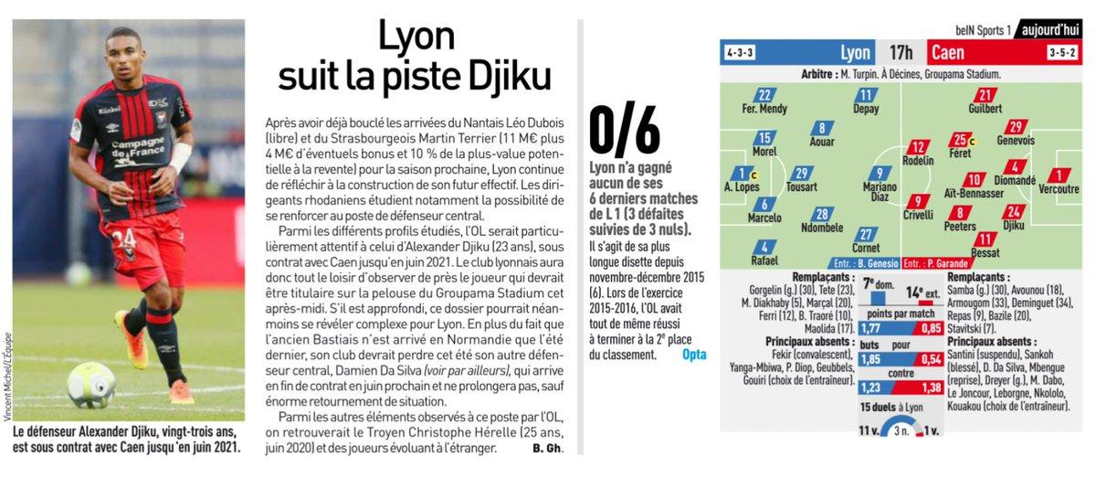 [29e journée de L1] O Lyon 1-0 SM Caen DX-7sgRWkAAlRne