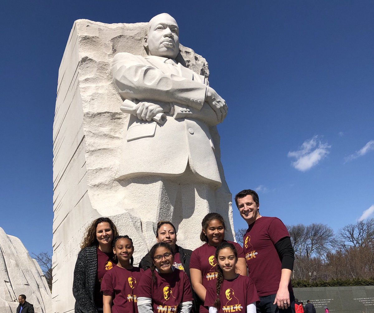 What a great day for our @mpusd_now scholars! Sts from @MLKSeaside_Arts visited the MLK memorial in DC and locally @SeasideMiddle receive the civil rights award from @City_of_Seaside icon Helen B. Rucker https://t.co/rkJtNt46lQ