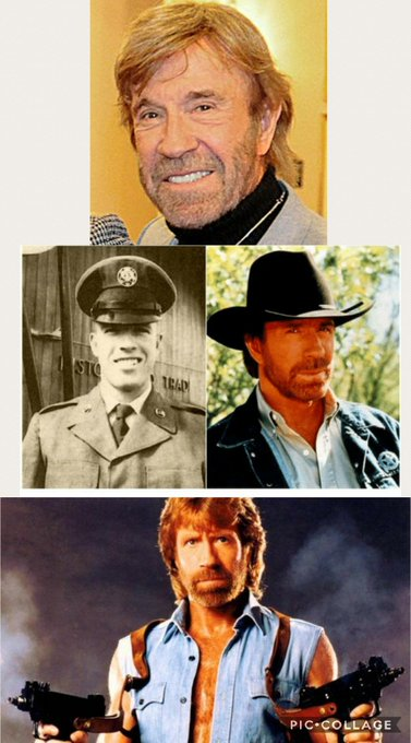 "Happy \""78th\"" Birthday Chuck Norris!"