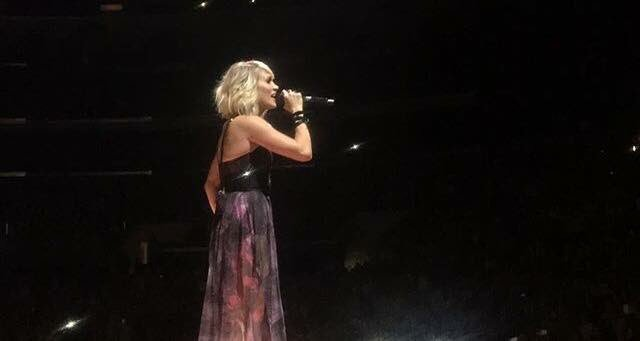 When I moved to LA, spontaneously got tickets to see Carrie underwood, amazing!! Happy birthday to this legend!