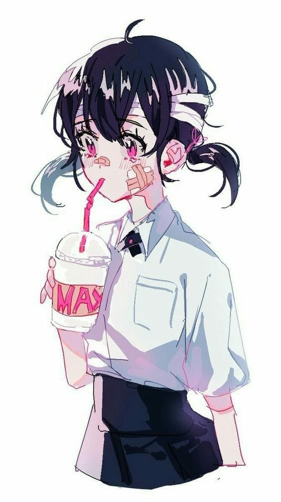 "Violett On Twitter: ""Kawaii Hurt 🌸🌸🌸 #anime #kawaii"