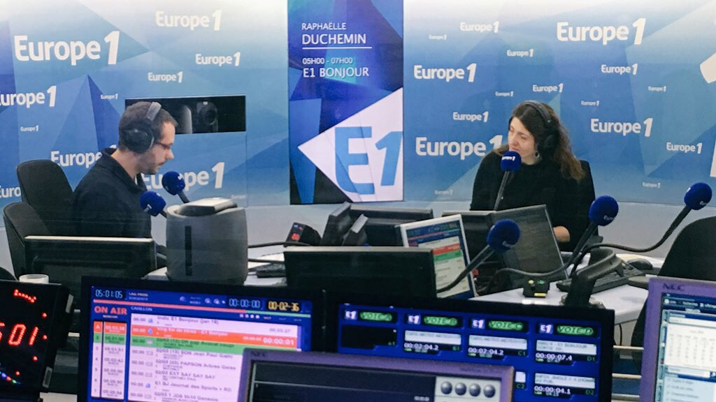 Europe 1's photo on Direct