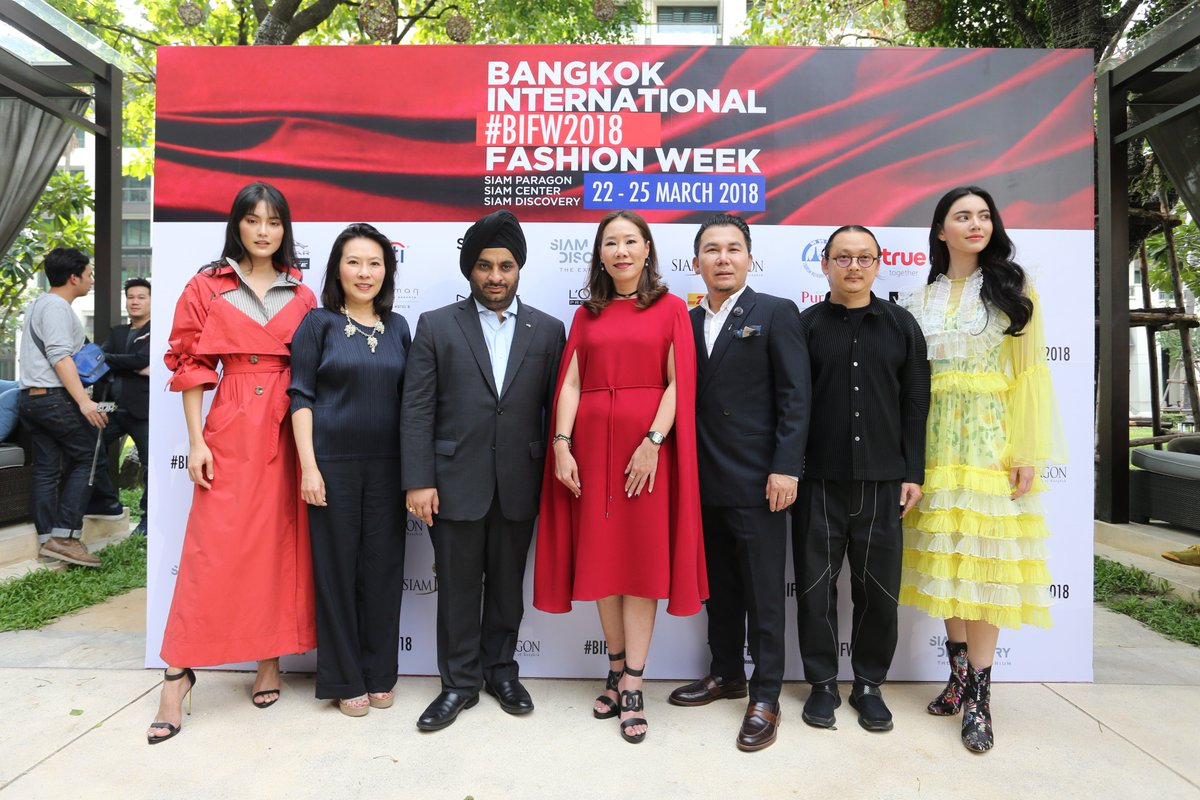 Bangkok International Fashion Week 22-25 มี.ค. 61 #BIFW2018 #SiamDiscovery #TheExploratorium https://t.co/u6Jn23VUlj
