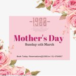 Image for the Tweet beginning: #MothersDay is around the corner