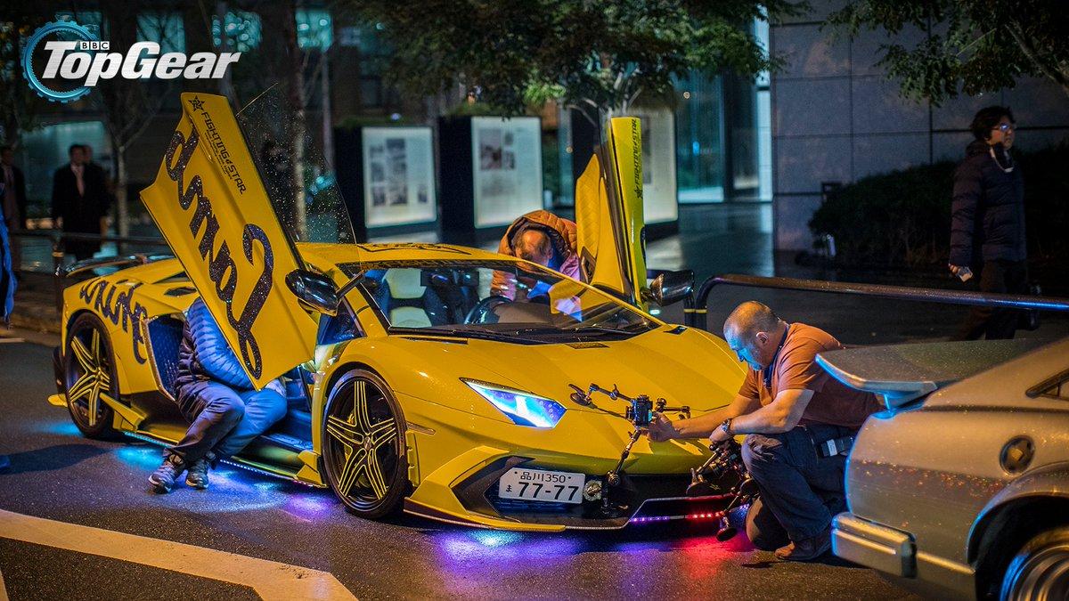 Top Gear On Twitter Light Show Lamborghinis In Tokyo Top Gear - Car light show