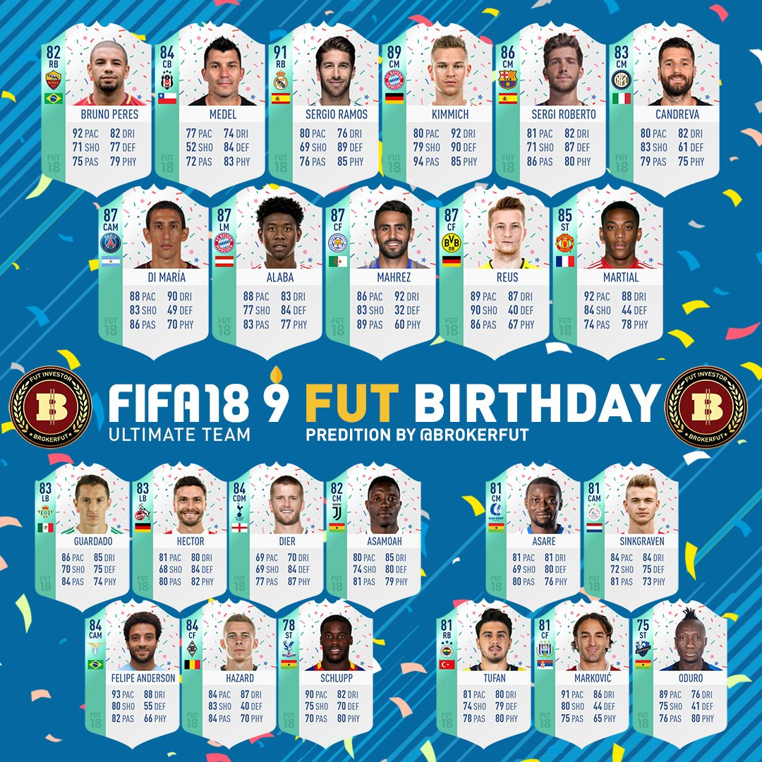 Brokerfut Not A Fifa 19 Trader On Twitter Fut Birthday