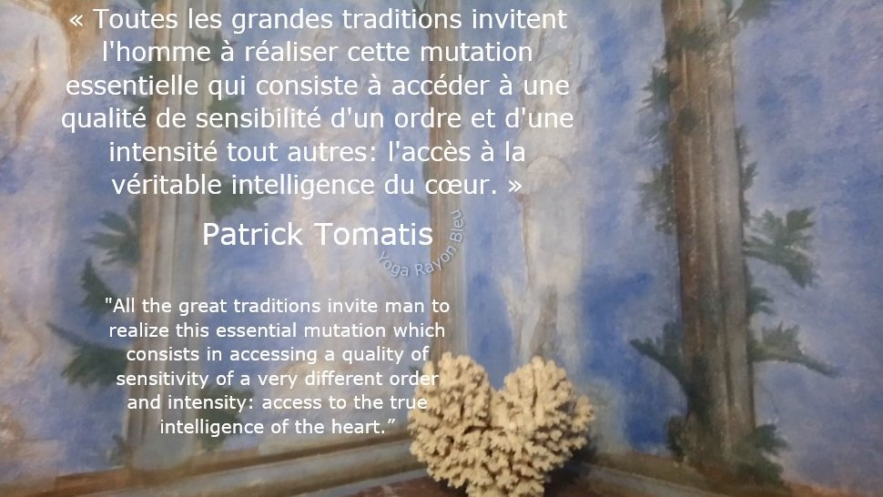 "«Toutes les grandes traditions invitent l&#39;homme...»   #PatrickTomatis &quot;All the great traditions invite man to realize this essential..."" Photo #YogaRayonBleu 2017Dubrovnik Croatie #yoga #citations #hathayoga #yogafrance #yogalove #EFY<br>http://pic.twitter.com/nceKteZrY5"