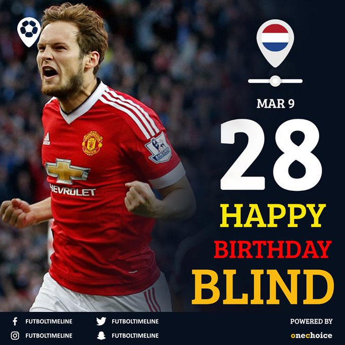 Happy birthday Daley Blind, the utility man.