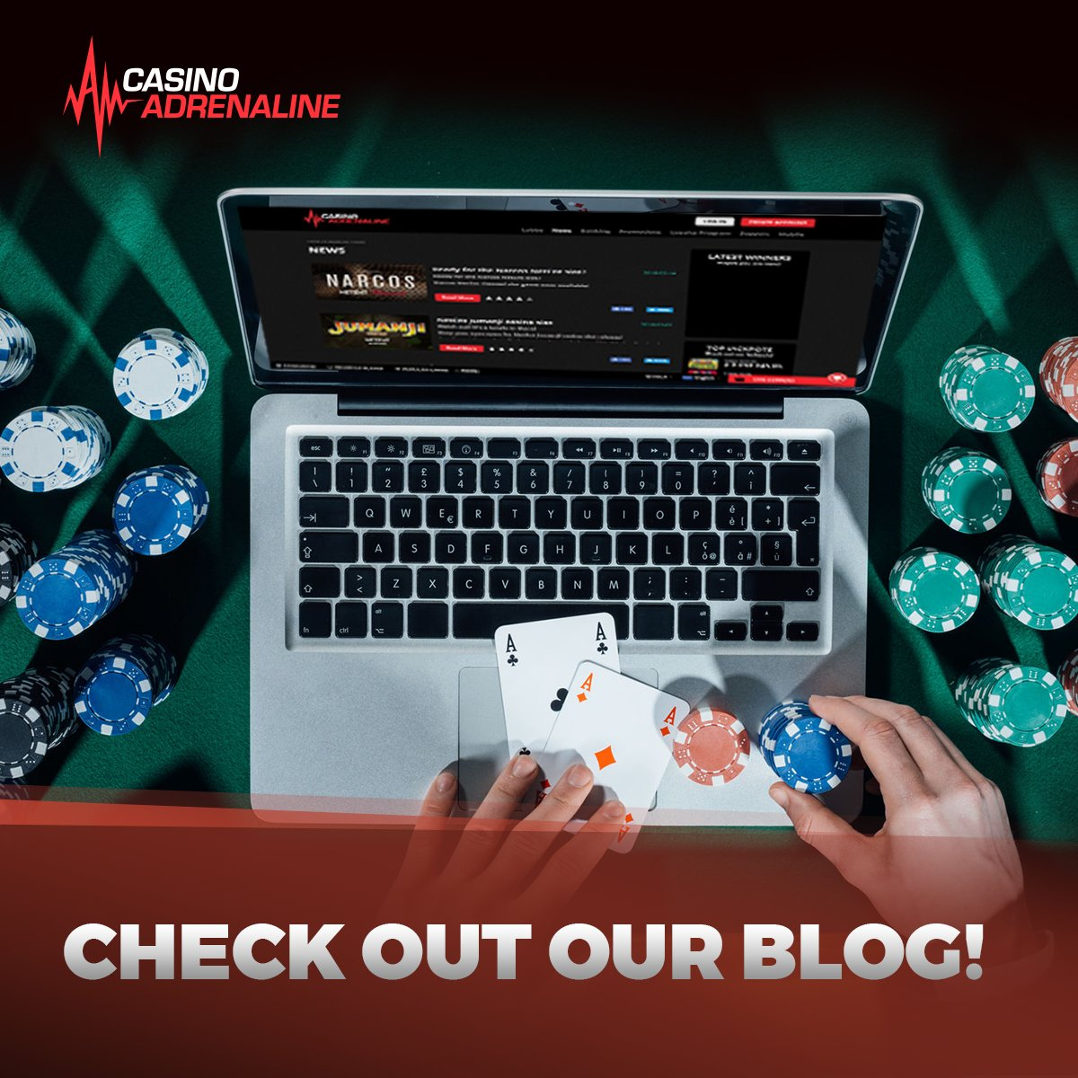 test Twitter Media - Visit our Casino Adrenaline #Blog and be informed about games news and trends! 🙂 #CasinoAdrenaline  Visit: https://t.co/VjkPpPDtAi https://t.co/1FfHT1TM9D