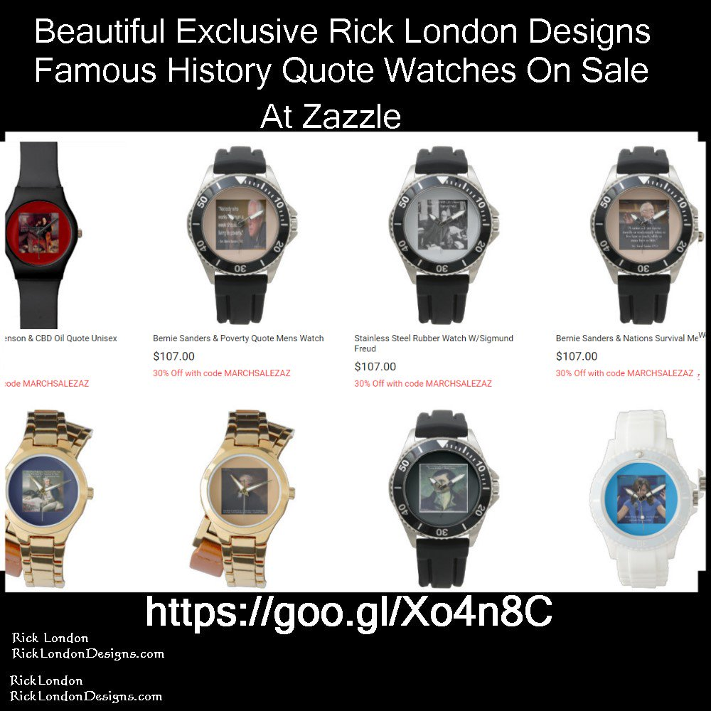 #Sale 30%off all @QuoteGifts Famous #History #Quote #Wristwatches #Couponcode MARCHSALEZAZ @c/o @zazzle #Watches  #gift 🌏#WorldWide #shipping #usa #uk #eu #au #nz #fr #de #se #dk #no #ie #il #be #sp #pt #ca #hk #in 🌏 👉 #Free #Personalization 🎷