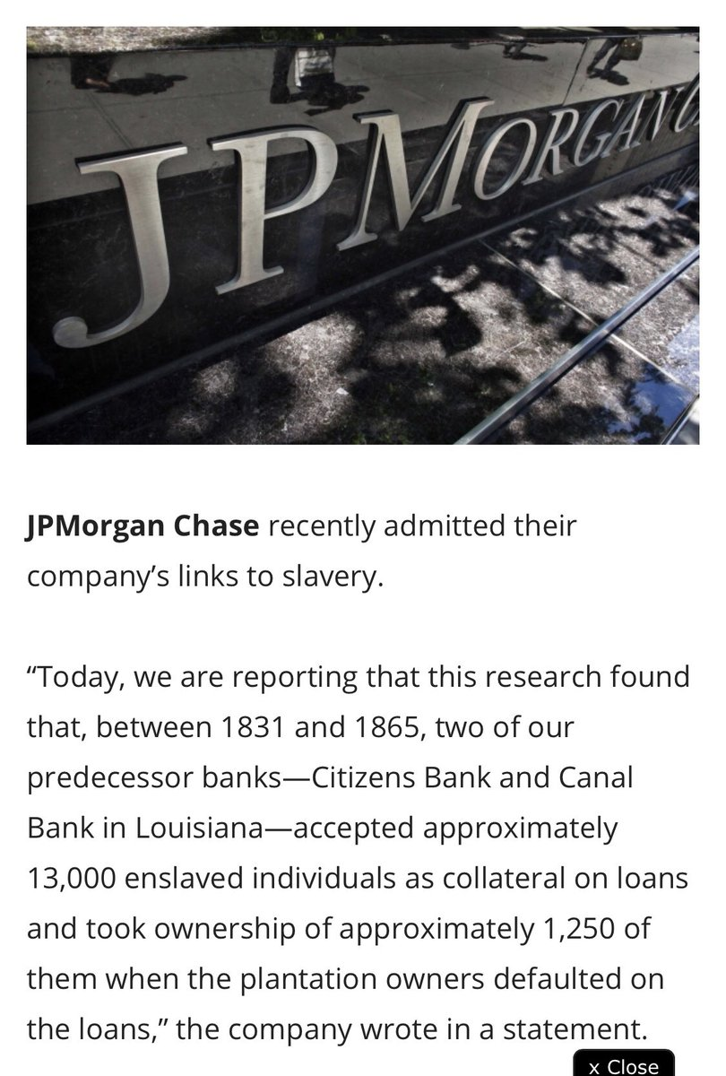 Jp morgan on twitter iwd2018 is an opportunity to remember yep but its time chase pay off my credit card you profit off of slaves and now you show pay restitution you can start with my credit card reheart Choice Image