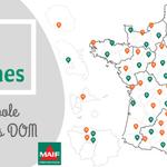 Image for the Tweet beginning: Nos #antennes départementales mènent des