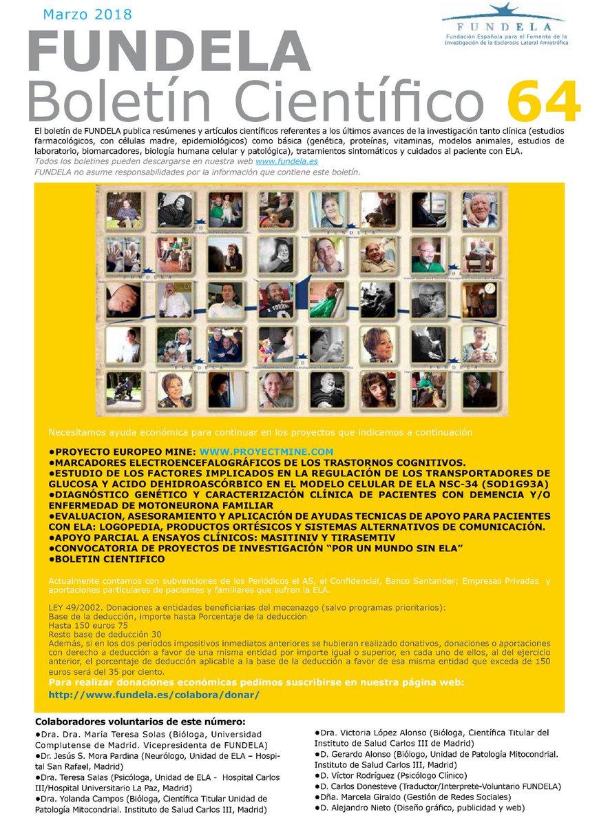 624ddcc3ce ... @ALSMNDAlliance @MIMS1951 @matallanas @Torres  http://www.fundela.es/documentacion/boletines/2018/boletin-cientifico-n64/  …pic.twitter.com/eXCjdGMp7C