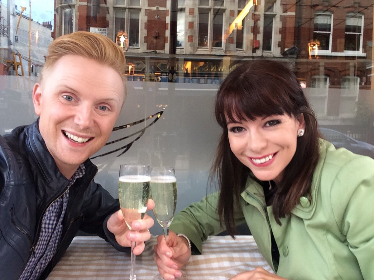 Elizabeth Rizzini On Twitter Happy Birthday To My Super Presentery Weather Husband Owainwynevans And The Only Person In This Photo Who Knows How To Look At A Camera Miss Ya Looooongtime