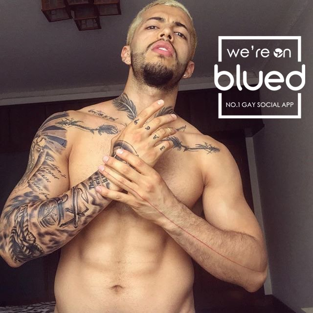 gay blued twitter