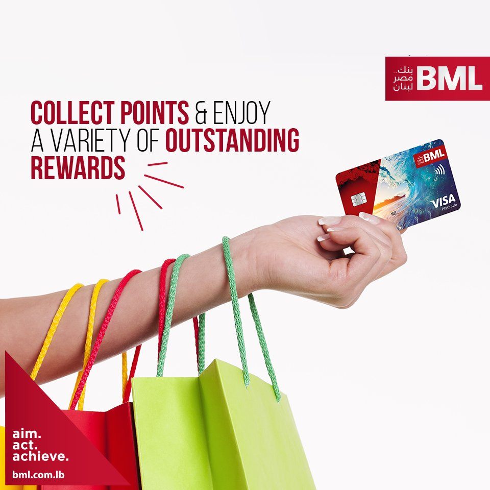 bml bank on twitter get a bml debitcredit card and turn your dollars into points with our bmloyalty program redeem your points for merchandise - Achieve Card Rewards