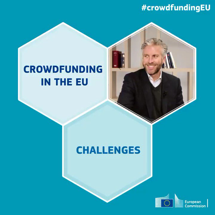 Major step forward for #crowdfunding in Europe! We have reached an agreement so crowdfunding platforms will be able offer their services EU-wide, & #startups & #SMEs will get easier access to financing (subject to formal approval by @EuroParl_EN & @EUCouncil) #CrowdfundingEU #CMU