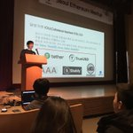 Image for the Tweet beginning: Presenting at the Seoul Ethereum