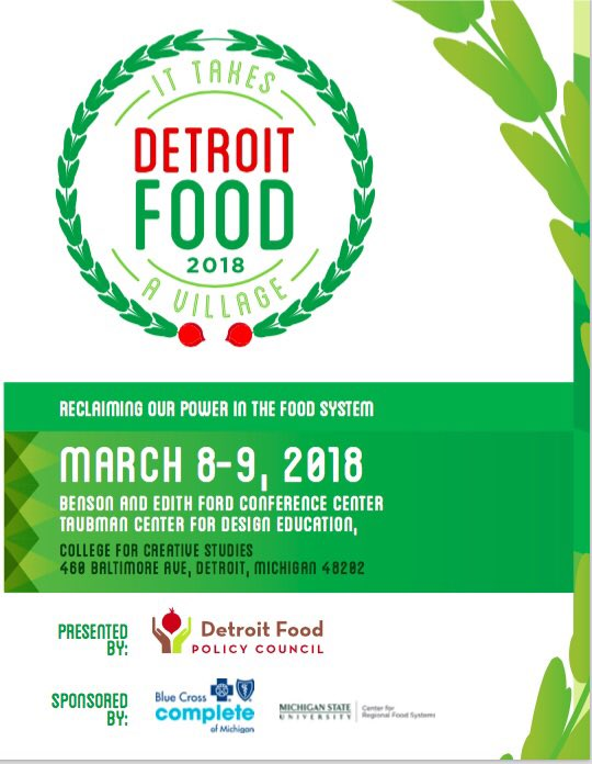 Detroit Food Policy Council On Twitter Thank You Thank You To Our Sponsors Motivate Level Sponsor Blue Cross Complete Of Michigan Sustain Level Sponsor Msu Center For Regional Food Systems Meal Sponsors