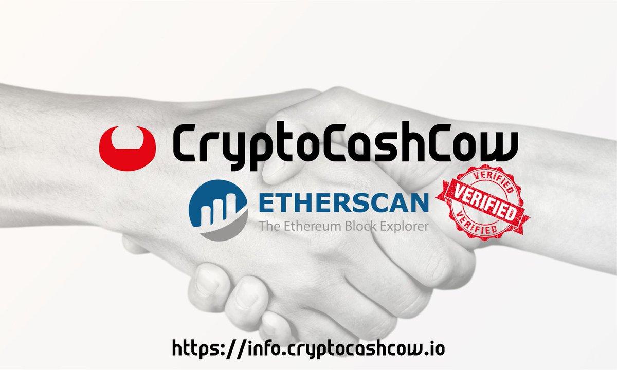 CryptoCashCow Etherscan verified