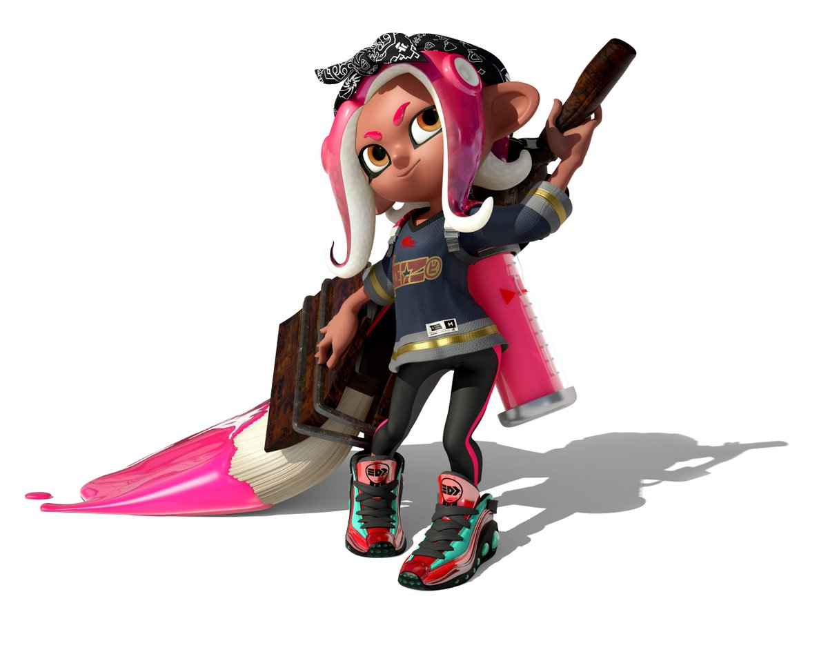Finally Collected The Octoling Girl Gear Splatoon