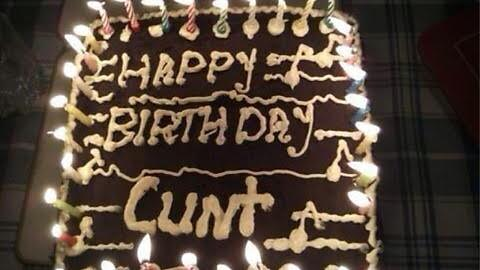Happy Birthday to former Prem man  Throwback to his birthday cake from a few years back