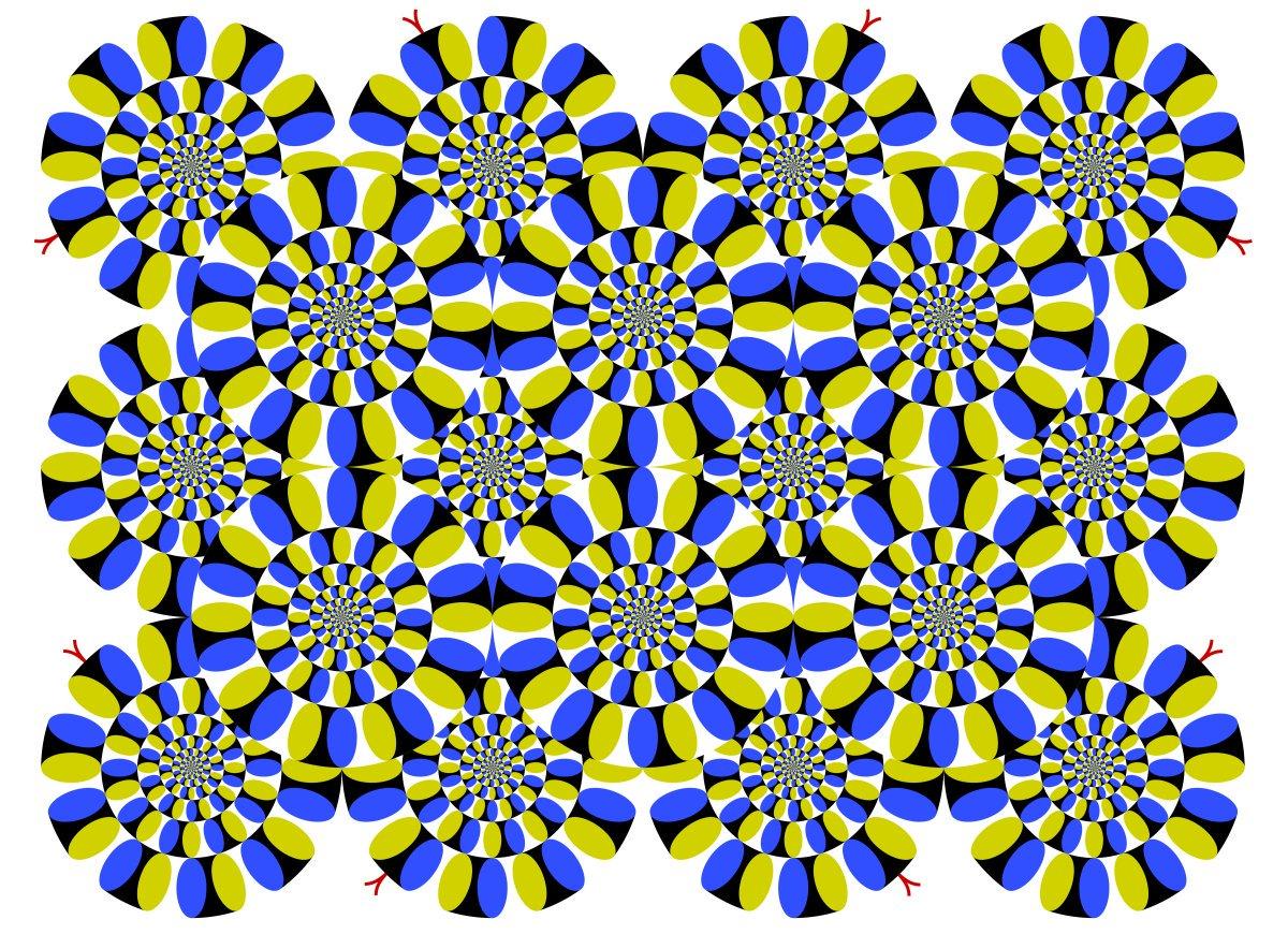 картинка иллюзия змеи созданию эскиза реалистичного