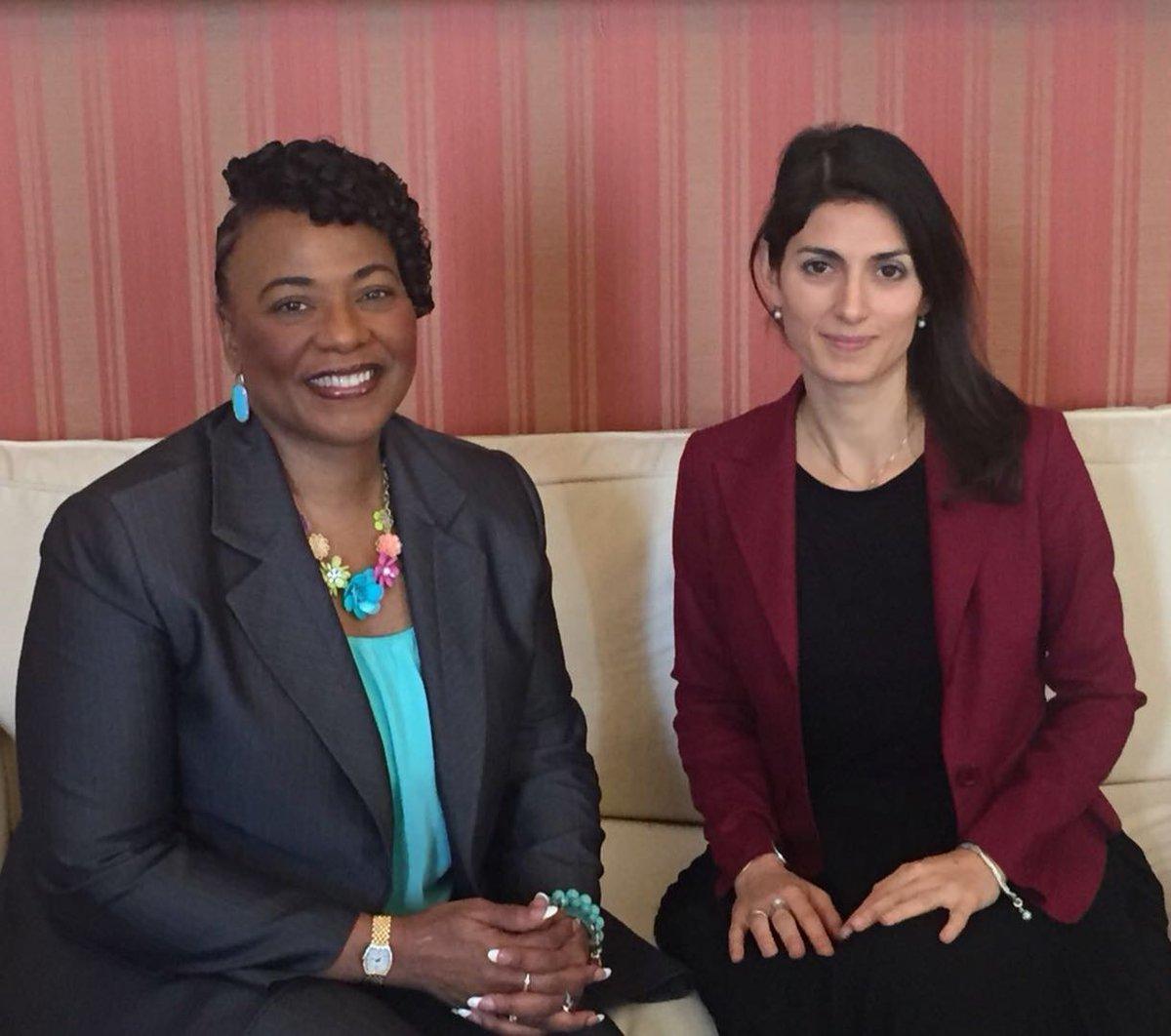 Lestremismo dellamore è lunica risposta possibile agli estremismi dellodio. Oggi con Bernice King figlia di Martin Luther King, leader della non violenza ucciso 50 anni fa.