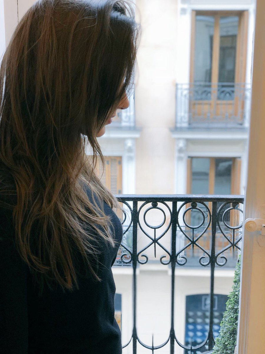 Lluvia madrileña... Me encanta 💜💜 Ustede...