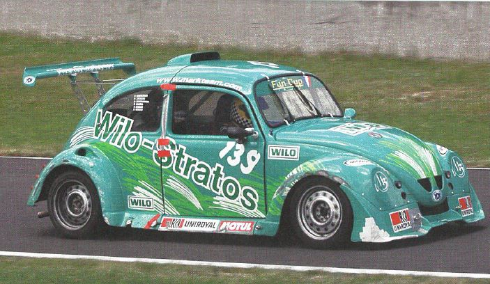 What do a Wilo-Stratos and a motor race have in common? The high number of revolutions, of course - and the first places. Back then this green beetle whizzed on Stratos mission over the race tracks throughout France.  #flashbackfriday #Wilo