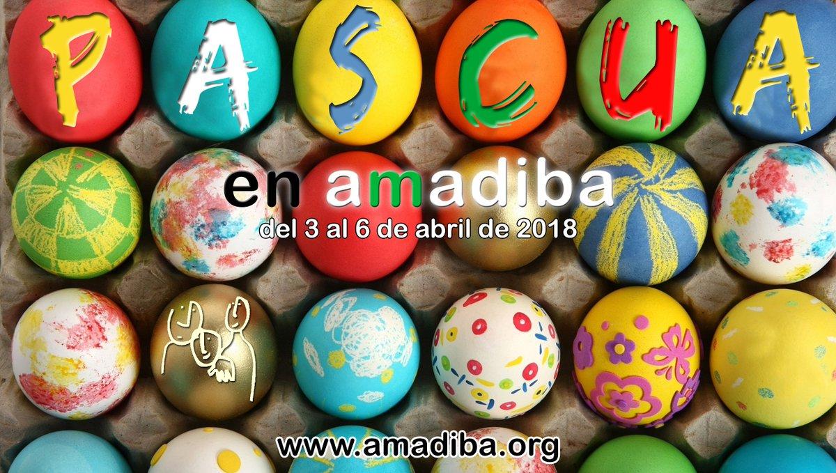 Ya podéis inscribiros a Pascua en amadib...