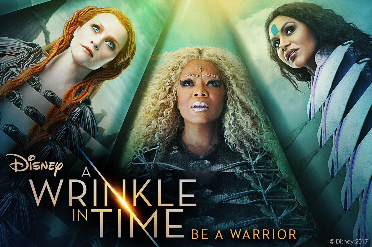 Finally! Today's the day. Are you taking the child in you or bringing a child to see #WrinkleInTime? #DoBoth