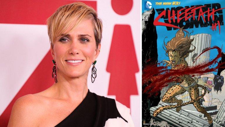 Patty Jenkins confirms Kristen Wiig as #WonderWoman villain Cheetah https://t.co/MV5ifH9gDa